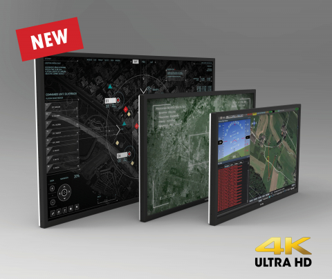 UHD Industrial Display family